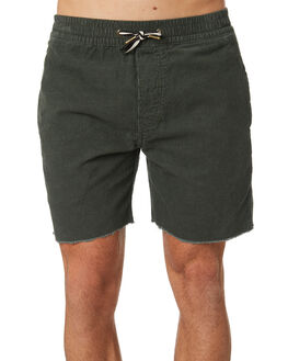 BOTTLE GREEN CORD MENS CLOTHING BARNEY COOLS SHORTS - 650-CC1BTGRN