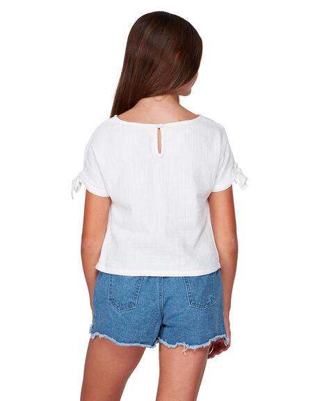 WHITE KIDS GIRLS BILLABONG TOPS - BB-5507093-WHT