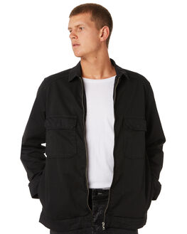 BLACK MENS CLOTHING NEUW JACKETS - 33252100