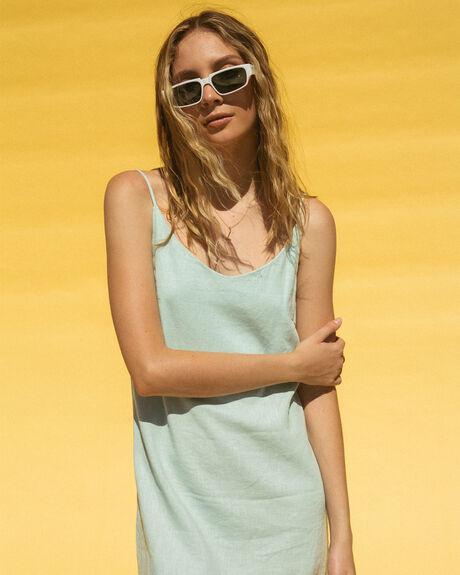 CLOUD BLUE WOMENS CLOTHING BILLABONG DRESSES - BB-6572476-CLB