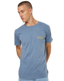 MIRAGE BLUE MENS CLOTHING THE CRITICAL SLIDE SOCIETY TEES - SWT1705MBLU