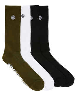 MULTI MENS CLOTHING INDEPENDENT SOCKS + UNDERWEAR - IN-MZD7167MUL