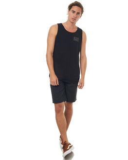 BLACK MENS CLOTHING BILLABONG SINGLETS - 9572514XBLK