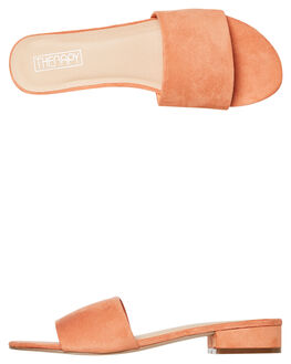 CORAL WOMENS FOOTWEAR THERAPY SLIDES - SOLE-6244COR