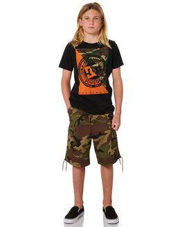 CAMO KIDS BOYS DC SHOES SHORTS - EDBWS03051GSR6