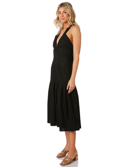 BLACK OUTLET WOMENS RUE STIIC DRESSES - RWS-19-06-1BLK