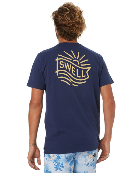 NAVY MENS CLOTHING SWELL TEES - S5184039NAVY