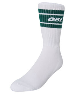 WHITE DEEP TEAL MENS CLOTHING OBEY SOCKS + UNDERWEAR - 100260093DPT