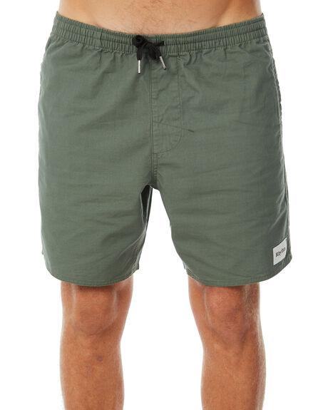 OLIVE MENS CLOTHING RHYTHM SHORTS - APR18M-JM01OLI