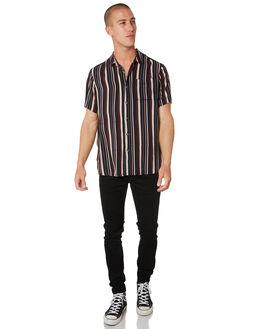 MULTI STRIPE MENS CLOTHING ROLLAS SHIRTS - 156943704