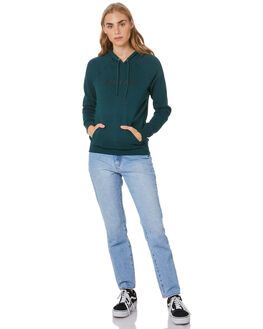 EMERALD GREEN WOMENS CLOTHING VOLCOM JUMPERS - B3111886EMG