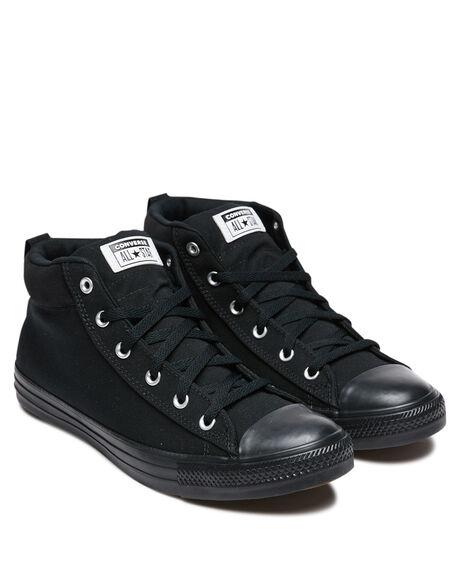 BLACK MENS FOOTWEAR CONVERSE SNEAKERS - 168725CBLK