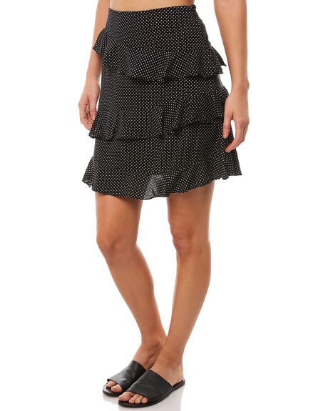 BLACK WOMENS CLOTHING MINKPINK SKIRTS - MP1710433BLK