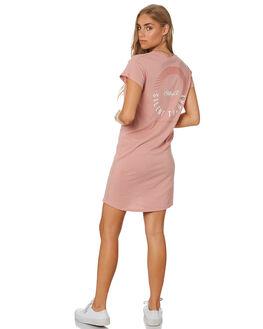 BLUSH WOMENS CLOTHING SILENT THEORY DRESSES - 6008038BLUSH