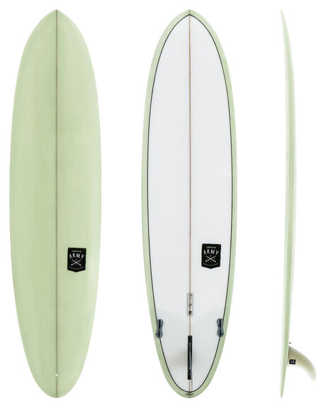 OLIVE TINT BOARDSPORTS SURF CREATIVE ARMY SURFBOARDS FUNBOARD - NZCA-HUEVPU-OLV
