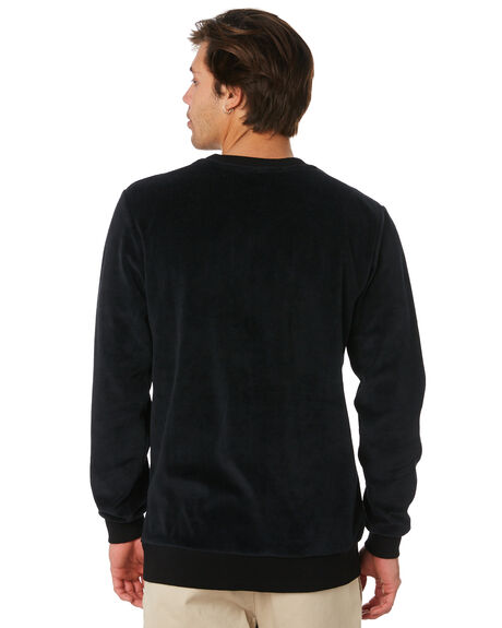 BLACK MENS CLOTHING TOWN AND COUNTRY JUMPERS - TFT315BLK