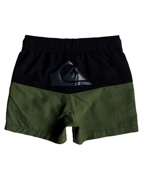 BLACK KIDS TODDLER BOYS QUIKSILVER BOARDSHORTS - EQKJV03051KVJ0