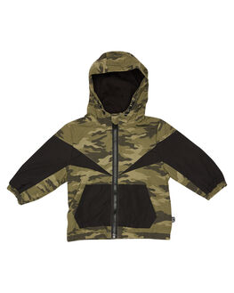 CAMOFLAUGE KIDS BOYS ANIMAL CRACKERS JUMPERS + JACKETS - 3450035CAMO