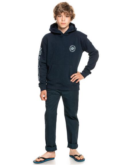 NAVY BLAZER KIDS BOYS QUIKSILVER JUMPERS + JACKETS - EQBFT03724-BYJ0