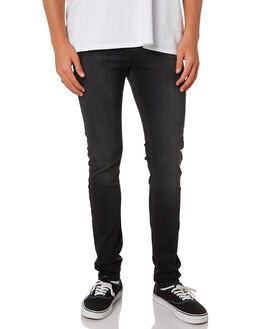 DUSTY BLACK MENS CLOTHING DR DENIM JEANS - 1610109-A62
