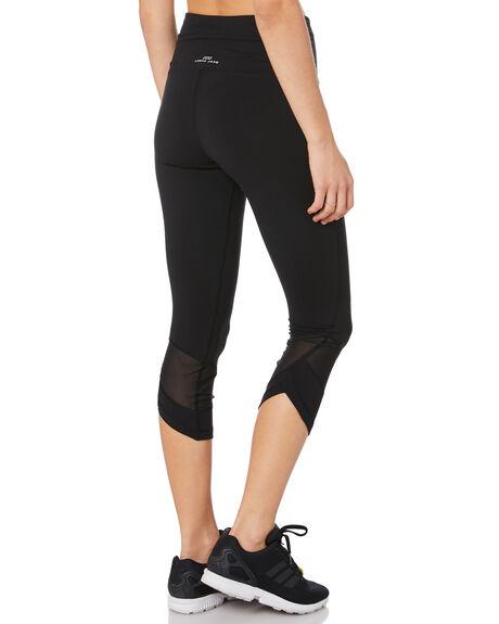 BLACK WOMENS CLOTHING LORNA JANE ACTIVEWEAR - 111972BLACK