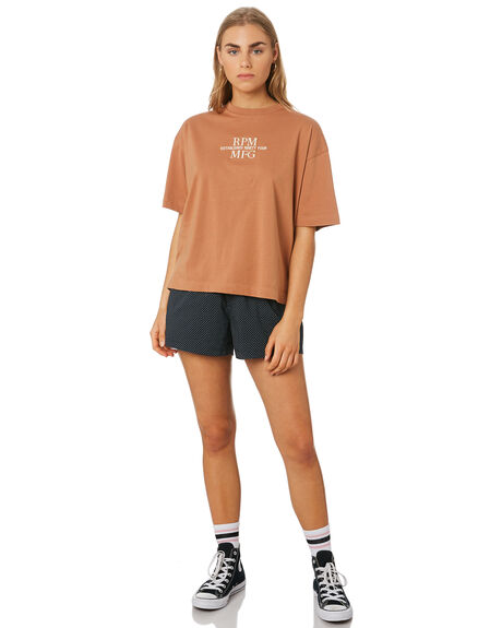 TAN WOMENS CLOTHING RPM TEES - 9SWT04A6TAN