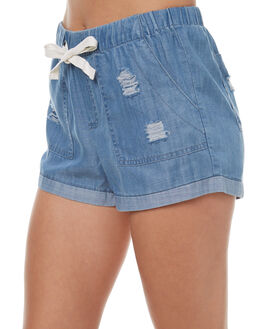 INDIGO WOMENS CLOTHING ELWOOD SHORTS - W73616343