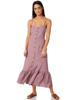 RED WOMENS CLOTHING TIGERLILY DRESSES - T381441RED