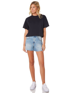 INDIGO WOMENS CLOTHING HUFFER TEES - WTE91S72-342IND