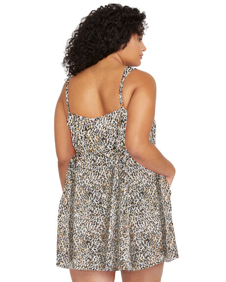 LEOPARD WOMENS CLOTHING VOLCOM DRESSES - B1341900PLEO