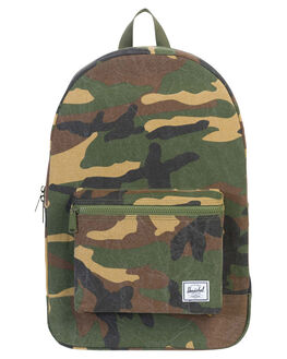 WOODLAND CAMO MENS ACCESSORIES HERSCHEL SUPPLY CO BAGS + BACKPACKS - 10076-01568-OSWOOD