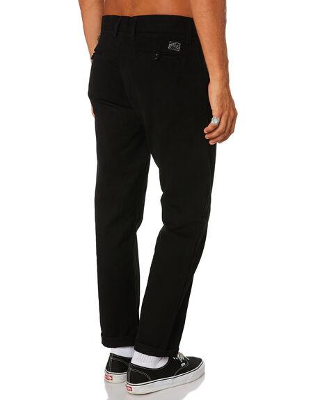 BLACK MENS CLOTHING RUSTY PANTS - PAM0984BLK
