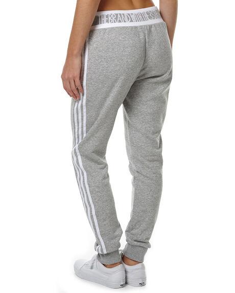 GREY HEATHER WOMENS CLOTHING ADIDAS ORIGINALS PANTS - AY8944GRY