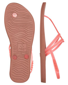 HOT PINK WOMENS FOOTWEAR REEF THONGS - A3FD5HPNK