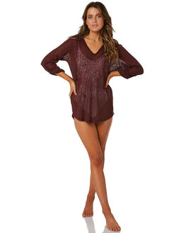 RUBY WINE WOMENS CLOTHING BILLABONG FASHION TOPS - 6571151RW2