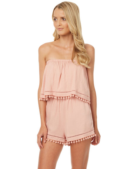 BLUSH WOMENS CLOTHING SWELL PLAYSUITS + OVERALLS - S8174462BLUS