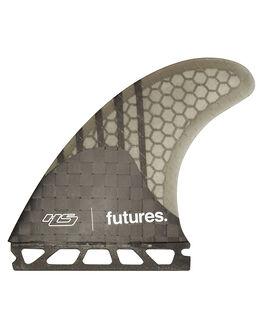 SMOKE SURF HARDWARE FUTURE FINS FINS - HS1-021409SMOKE