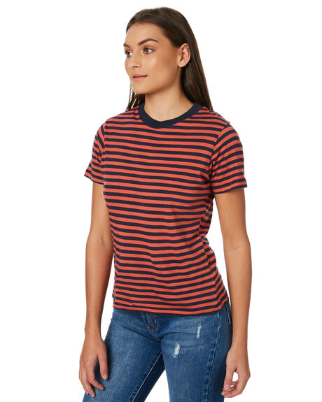 RED WOMENS CLOTHING ROLLAS TEES - 12578160