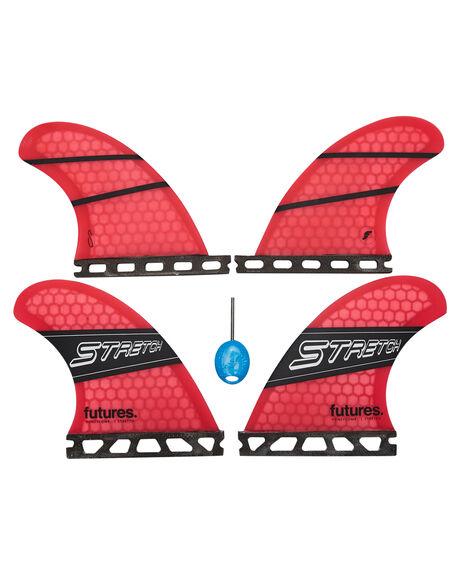 PINK BLACK BOARDSPORTS SURF FUTURE FINS FINS - 2310-123-40PNKBL