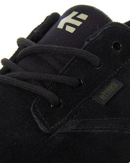 BLACK WHITE MENS FOOTWEAR ETNIES SKATE SHOES - 4101000449-968