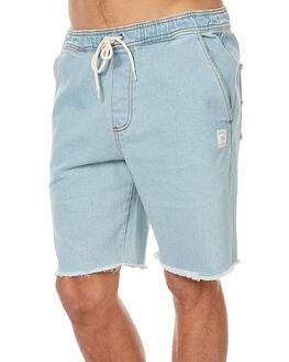 90S BLUE MENS CLOTHING RUSTY SHORTS - WKM0893NTB