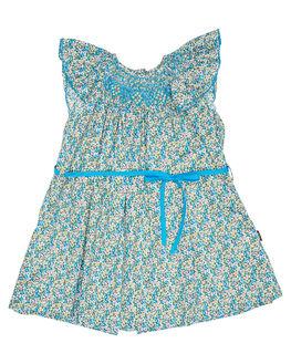 BLUE KIDS GIRLS ROCK YOUR KID DRESSES + PLAYSUITS - TGD19195-LSBLU