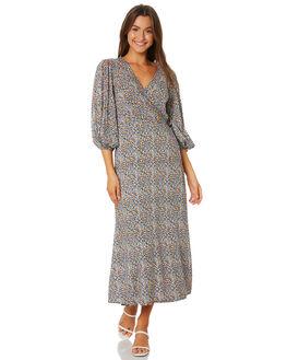 DE SAINT FLORAL WOMENS CLOTHING MLM LABEL DRESSES - MLM707CFLORAL
