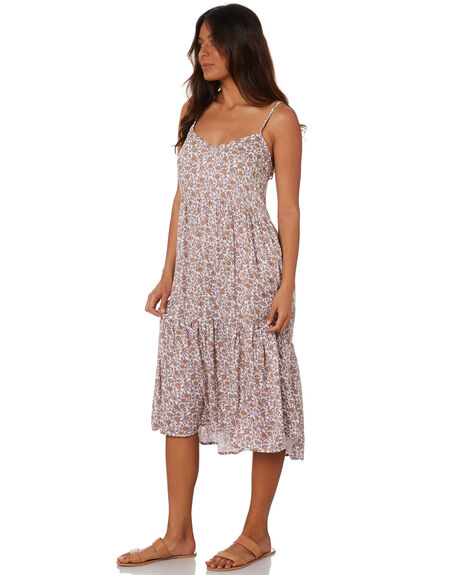 SUNKISSED FLORAL WOMENS CLOTHING THE HIDDEN WAY DRESSES - H8212448SKDFL