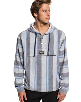 SLEET NEO BLUES MENS CLOTHING QUIKSILVER JUMPERS - EQYJK03465-SZP3