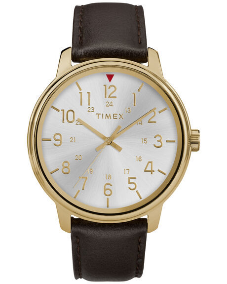 BROWN GOLD MENS ACCESSORIES TIMEX WATCHES - TW2R85600BRNGD