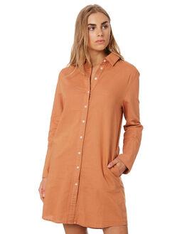 CINNAMON WOMENS CLOTHING NUDE LUCY DRESSES - NU23675CIN