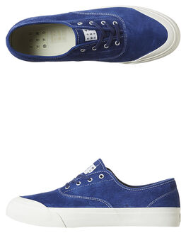 BLUE DEPTHS MENS FOOTWEAR HUF SKATE SHOES - VC64001BLU
