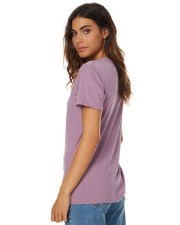 PURPLE WOMENS CLOTHING SILENT THEORY TEES - SS4083026PURPW