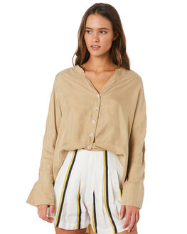 LIGHT MOSS WOMENS CLOTHING SANCIA FASHION TOPS - 809AMOSS